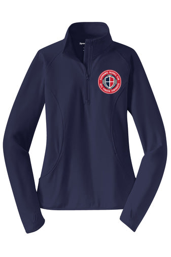Silverhawks Ladies 1/4 Zip Tech Pullover