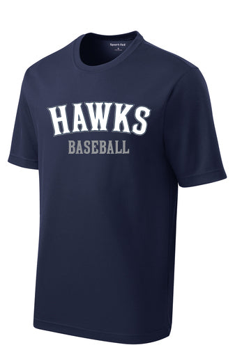 SIlverhawks Navy Tech Tee