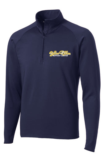 Yellow Ribbon Support Center Logo 1/4 zip