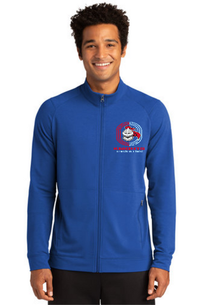 T&F Sport-Tek ® Sport-Wick ® Flex Fleece Full-Zip