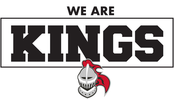 We Are Kings Car Magnet/Sticker