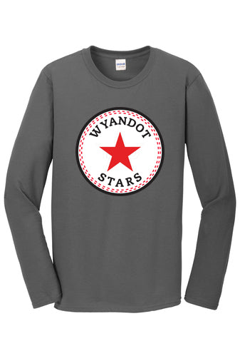 Wyandot Star Logo Long Sleeved Tee
