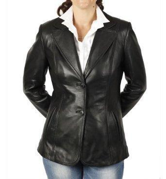 Boworish Women Leather Blazers - Xosack