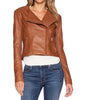 Brooze Women Biker Leather Jackets - Xosack