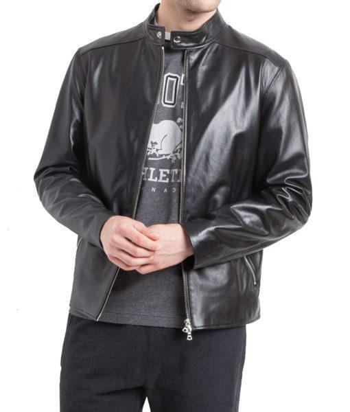 Givenchy Men Classic Leather Jacket - Xosack