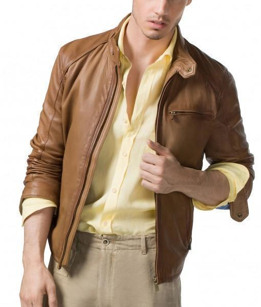 Marsh Men Leather Jackets - Xosack