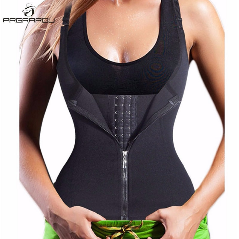 Hot Shapers Neoprene Sauna Sweat Vest Waist Trainer