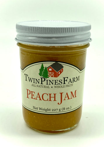 Twin Pines Farm 8oz Peach Jam