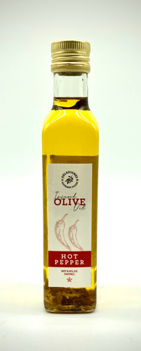 Hot Pepper Infused Olive Oil 8.5oz
