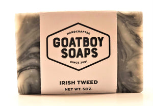 Goatboy Soaps - Irish Tweed
