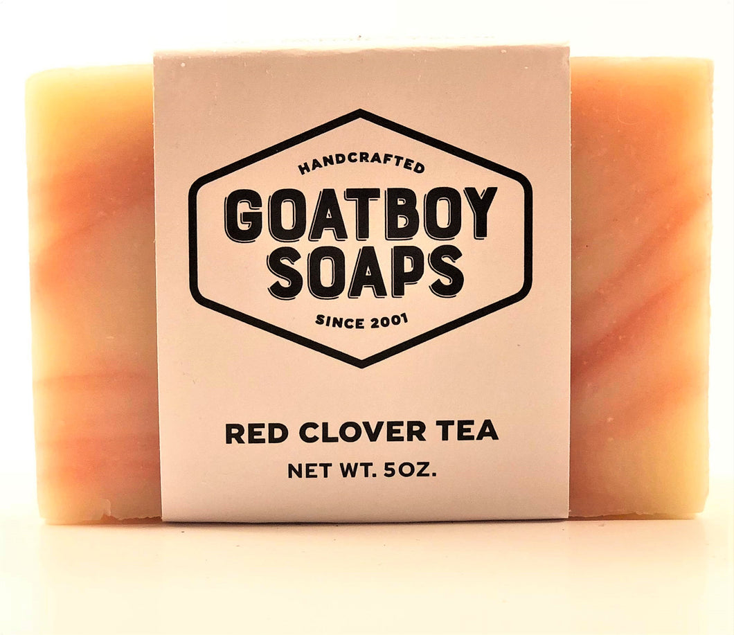 Goatboy Soaps - Red Clover Tea
