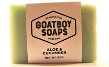 Load image into Gallery viewer, Goatboy Soaps - Aloe & Cucumber