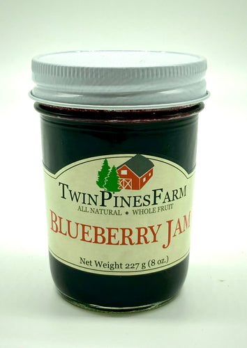 Twin Pines Farm 8oz Blueberry Jam