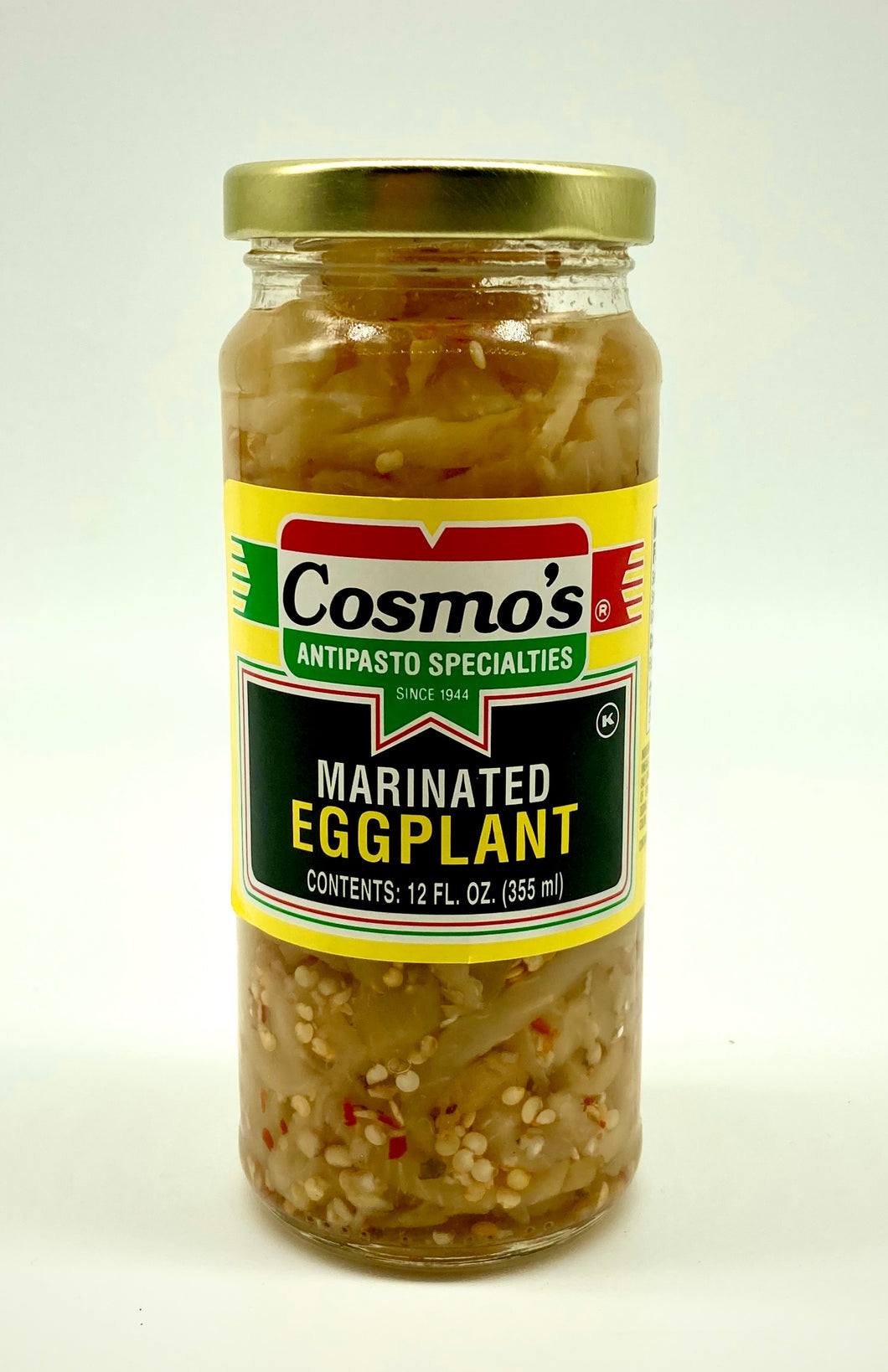 Marinated Eggplant 12oz