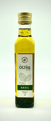 Basil Infused Olive Oil 8.5oz