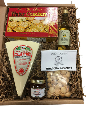 Cheese and Crackers Gift Box