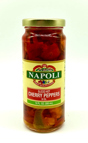 Good-N-Hot Sliced Cherry Peppers 12oz
