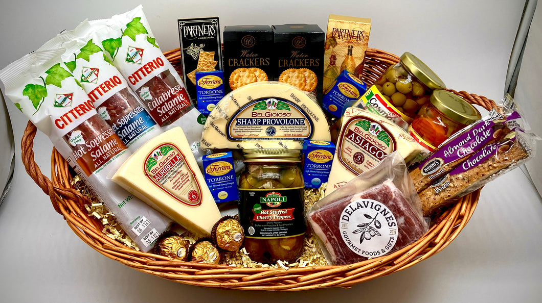Authentic Antipasto Basket