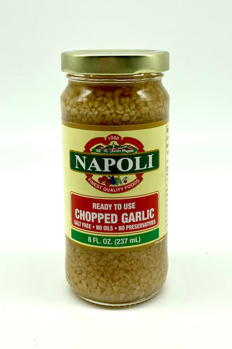 Chopped Garlic 8oz