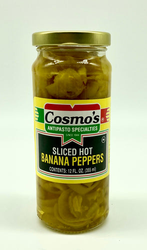 Hot Sliced Banana Peppers 12oz