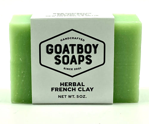 Goatboy Soaps - French Herbal Clay