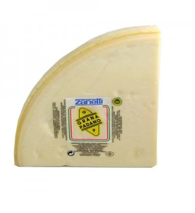 Authentic Grana Padano Cheese 1/4 wheel