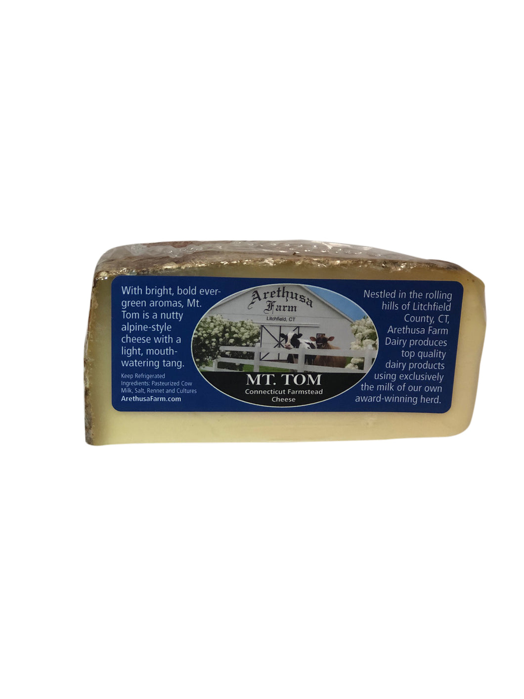 Arethusa Farm MT. Tom Cheese