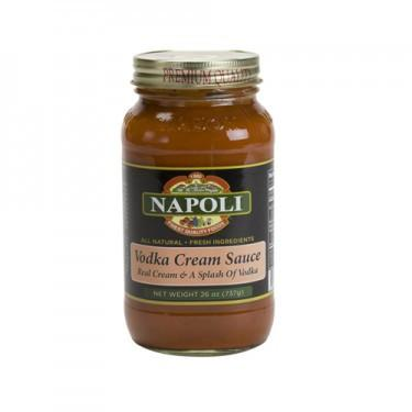 Vodka Cream Sauce - Napoli - 26oz.