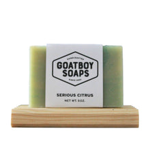 Load image into Gallery viewer, Goatboy Soaps - Serious Citrus