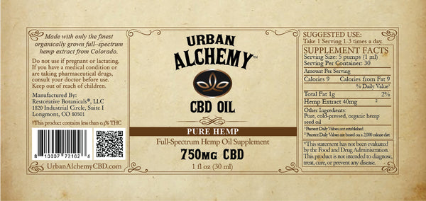 CBD Oil Blend: Pure Hemp