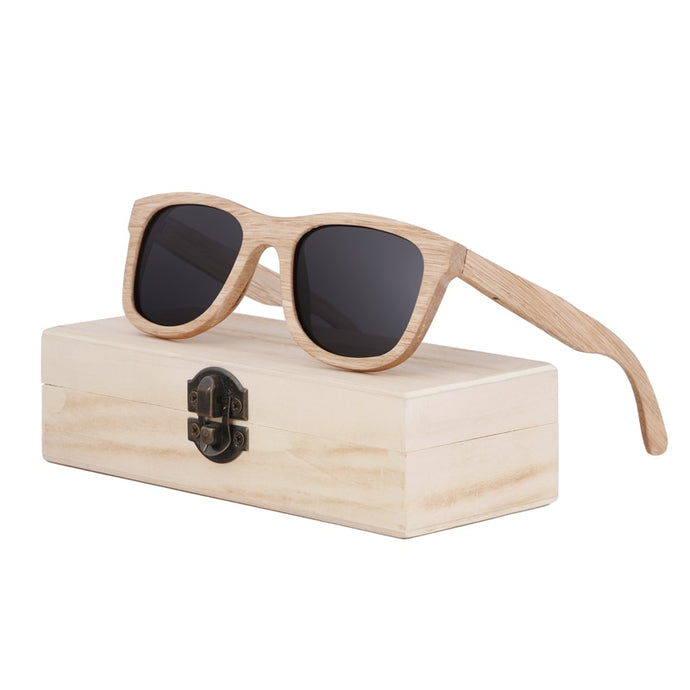 BerWer 2018 sunglass Wood sunglasses Wooden Sun Glasses Men Women bamboo sunglasses bamboo Oculos
