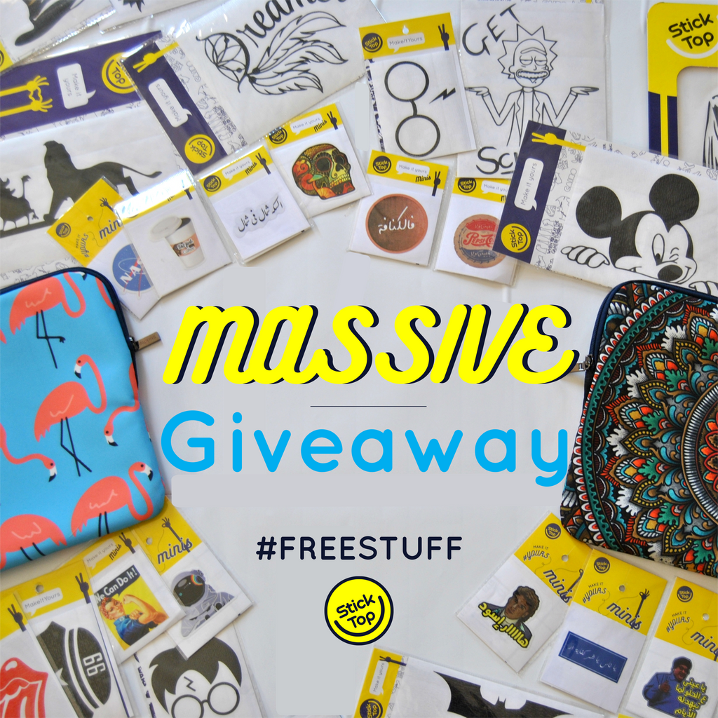 Want to win free stickers join our massive giveaway ends 10th june