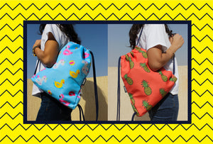 Bags in Egypt. Fun, colourful and bright bags practical for everyday use.
