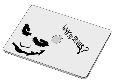 Why so serious? sticker-Macbook sticker-]-Best laptop stickers in Egypt.-sticktop