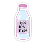 100% Boy Tears sticker-Minis-sticktop-[Laptop sticker Egypt]-[Laptop sticker in Egypt]-sticktop