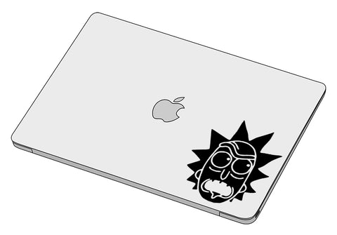 Rick's Face 2 sticker-Decal-]-Best laptop stickers in Egypt.-sticktop