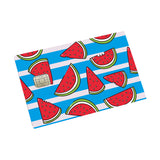 Wacky Watermelon Credit card Sticker