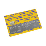 Recession Credit card Sticker