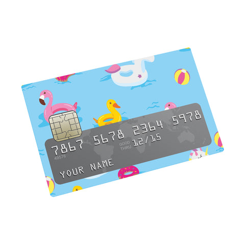 Floaters  Credit card Sticker
