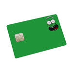 Rick Credit Card Sticker