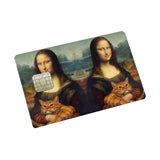 Mona Lisa Credit Card Sticker