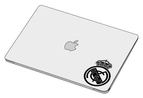 Real madrid logo sticker-Decal-]-Best laptop stickers in Egypt.-sticktop