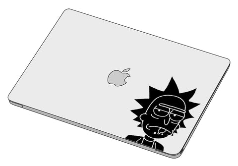 Ricks' face sticker-Decal-]-Best laptop stickers in Egypt.-sticktop