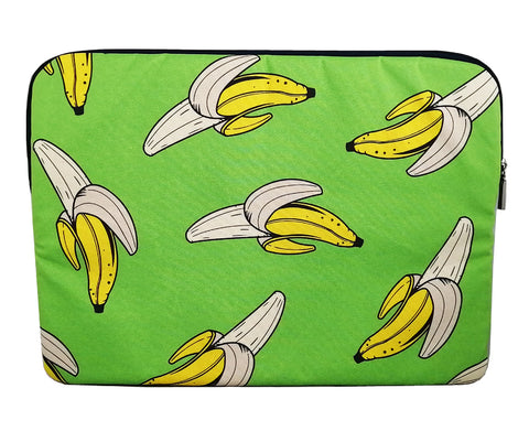 Green Banana Bonanza Laptop Sleeve