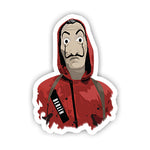 Berlin La Casa De Papel Sticker-Minis-sticktop-[Laptop sticker Egypt]-[Laptop sticker in Egypt]-sticktop