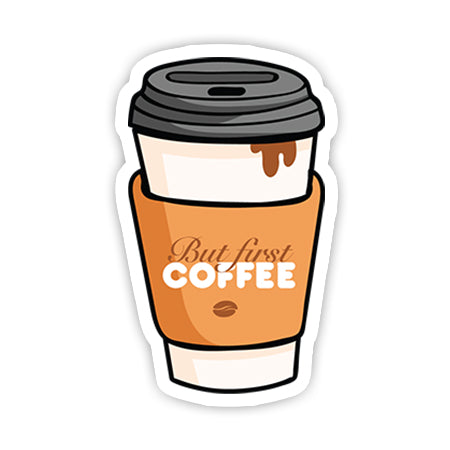 But first coffee sticker-Minis-sticktop-[Laptop sticker Egypt]-[Laptop sticker in Egypt]-sticktop
