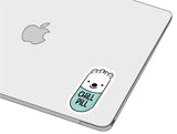 Chill Pill sticker-]-Best laptop stickers in Egypt.-sticktop