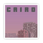 Cairo Stamp sticker-Minis-sticktop-[Laptop sticker Egypt]-[Laptop sticker in Egypt]-sticktop