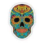 Colourful Skull sticker-Minis-MADD-[Laptop sticker Egypt]-[Laptop sticker in Egypt]-MADD