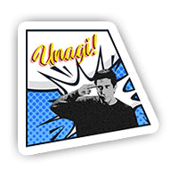 Comic Unagi sticker-minis-sticktop-[Laptop sticker Egypt]-[Laptop sticker in Egypt]-sticktop